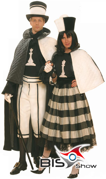 Шахматный костюм своими руками